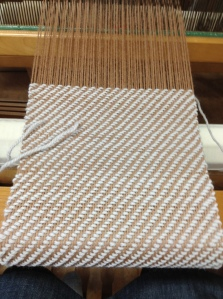 my first yardage of weaving