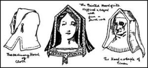 tudor-ladies-pointed-hood-wimplec1500
