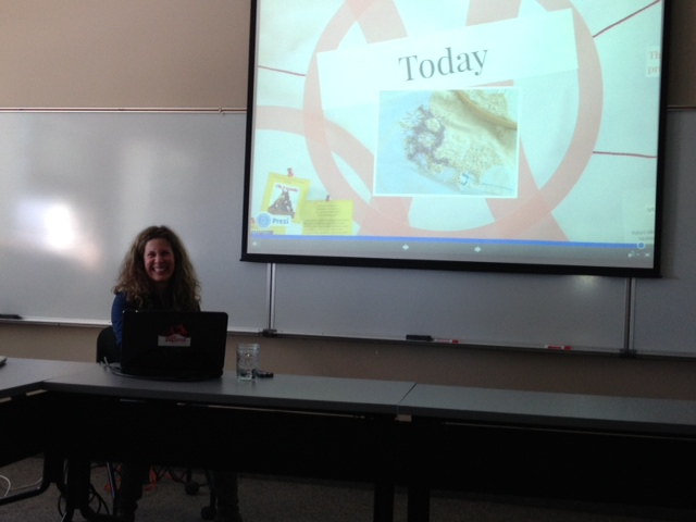 photo of me delivering the first draft of my PhD thesis proposal_april 10 2014