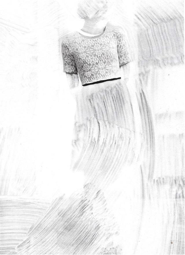Whitewash (swept up)
