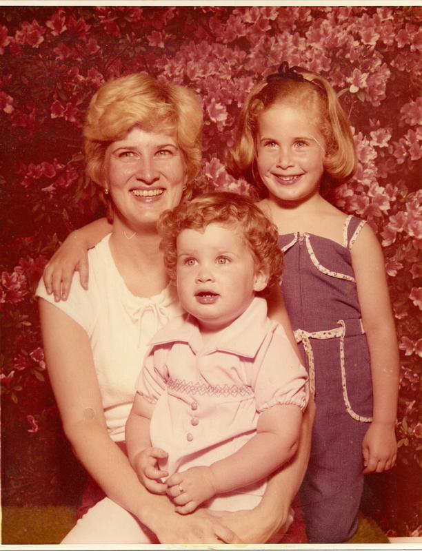 My mother, sister and I