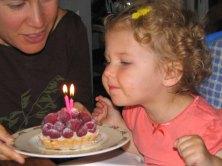 Happy 2nd birthday dear Mikaya!