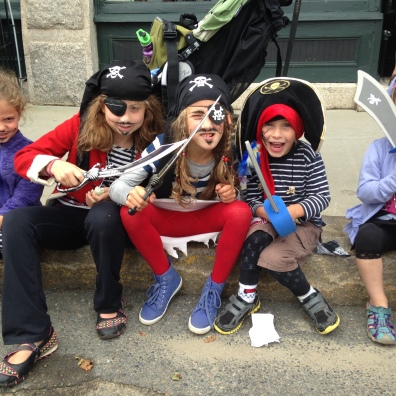 Now, could anyone actually be afraid of this little crew of pirates?!!