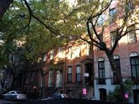 Walking in Greenwich Village