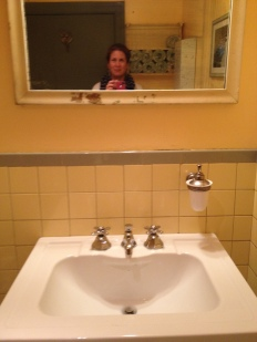 Me in the loo