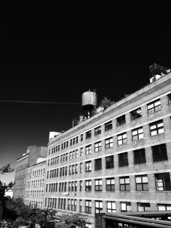 A view from the Highline.
