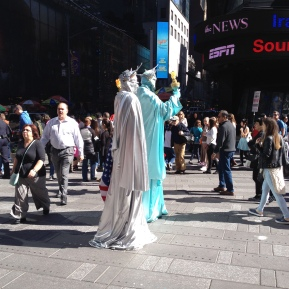 Statues of Liberties..
