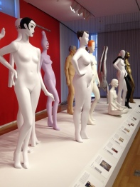 Some of Pucci's iconic mannequins