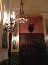 Approaching the lobby desk at The Jane