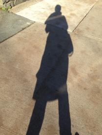 Love that long shadow from fall sunshine.