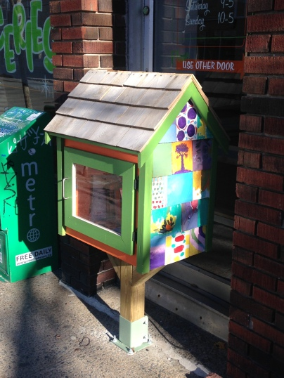Another lovely neighbourhood free book library!