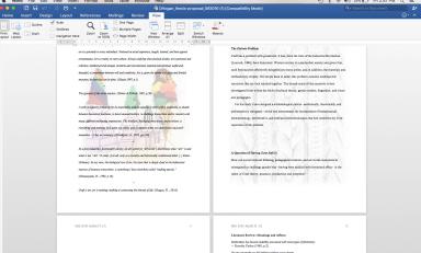 My dissertation..