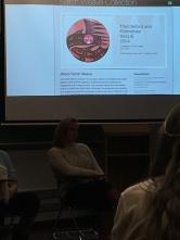 Salish Weave panel from CSEA
