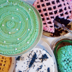 I am MAKING that bug cake!!@
